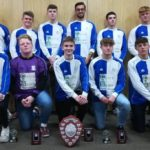 U17s with the 2017-18 Division B winners shield