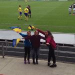 Oct 2015: A group of U13s and U11s Girls visit Doncaster Belles
