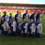 Oct 2016: A group of U14s and U12s Girls visit Doncaster Belles