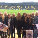 Oct 2018: U14s Girls at Meadow Lane to watch England Lionesses play Brazil